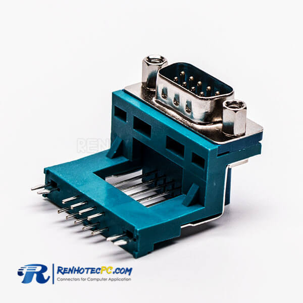 Top 15 P D Sub 90 Deg Clamp Male Elevated Type Green for PCB Connector