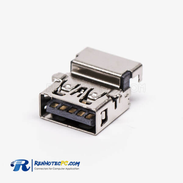 USB 3.0 Female 90 Degree Type A SMT Offset Type