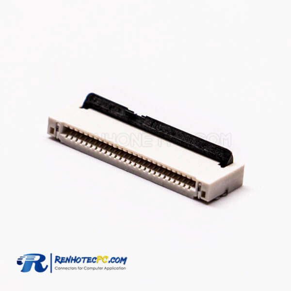 SMT FPC 1PH Single Contact Style 26 Pin Solder Type for PCB Mount