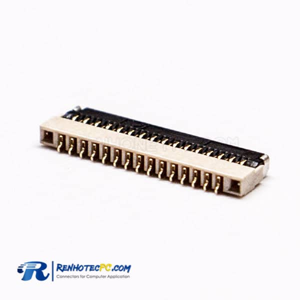 0.3PH 15 PIN FPC SMT Type Front Flip and Bottom Contact Style Socket