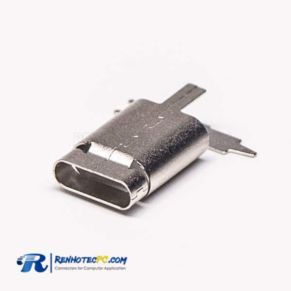 Type C USB Shell Straight Connector