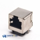 RJ45 Ethernet Socket Shielded Jack 90 Degree Through Hole PCB Mount