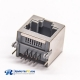RJ45 Shielded Jack DIP Type for PCB Mount Ethernet Network Socket 90 Degree 8P8C