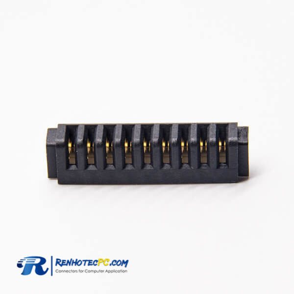 Battery connection PH2.5 9 Pin Female 90 Degree Laptop Battery Connector