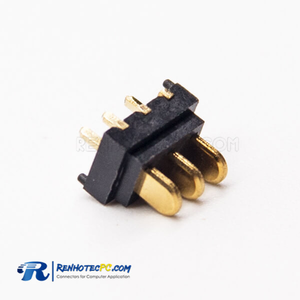 3 Pin Plug Connection 180 Degree PH2.0 Laptop Battery Connector