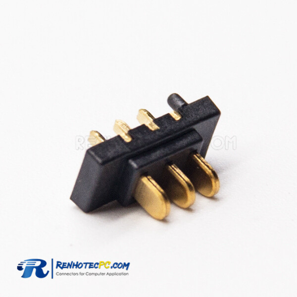 Notebook Battery Connector Socket 3 Pin PH2.0 Male Straight Through Hole for PCB Mount