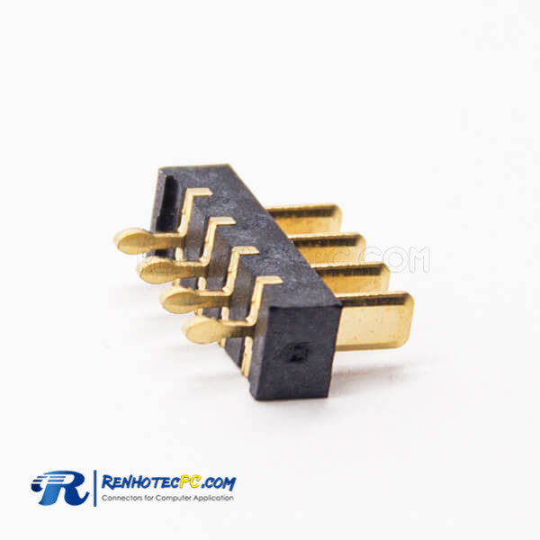 Laptop Battery Connections 4.0MM 4 Pin PH2.5 Male Straight Panel Mount