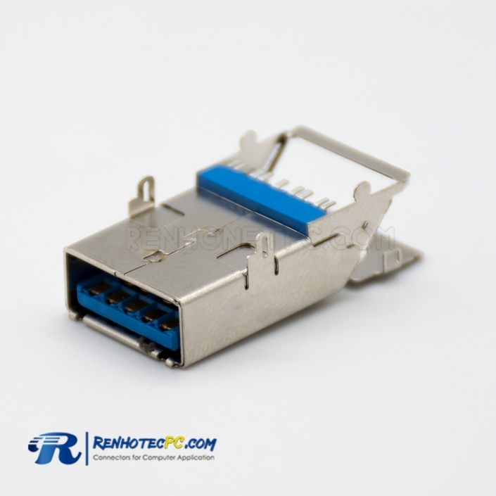 USB Adapter 9 Pin Female Type A 3.0 SMT Connector