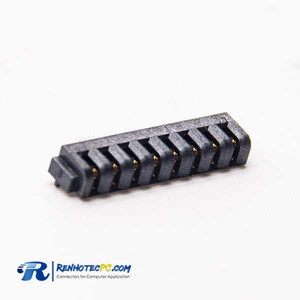 8 Pin Female Connector PH2.5 Straight Left SMT Laptop Battery Connector