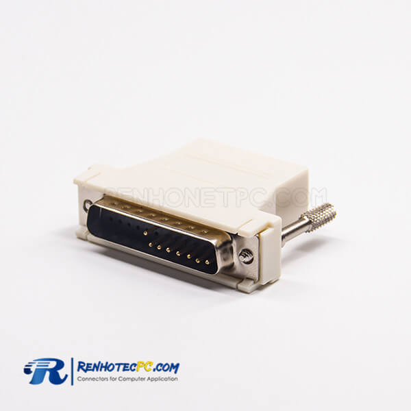 DB25 Male To RJ45 Connector Straight RJ45 Female To Standard D-Sub 8&25Pin
