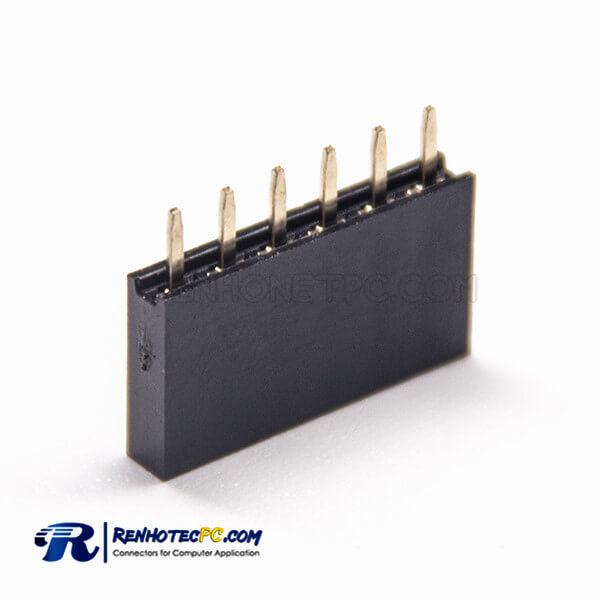 Female Header 10pcs PCB 180 Degree 2.54mm Picth Y Type PBT