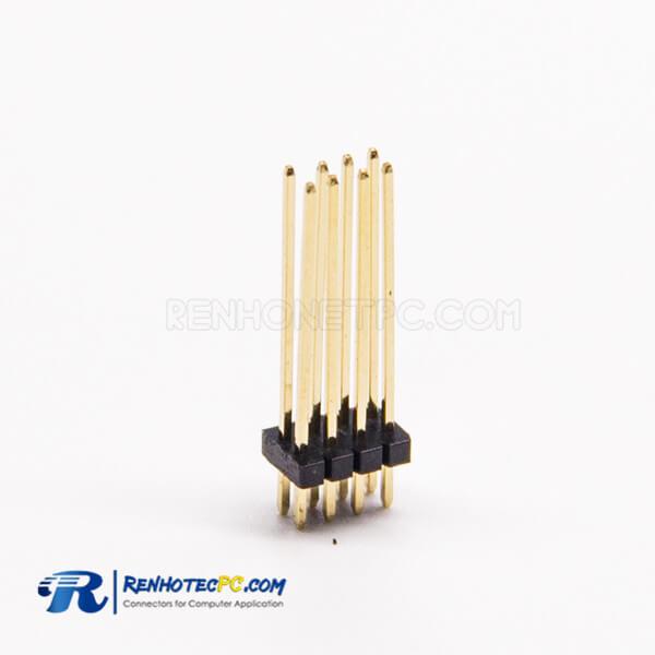 1.27 mm Header Pin Connector Dual Row 2×4PIN Straight